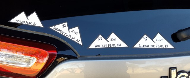 Decals on my Jeep's back window